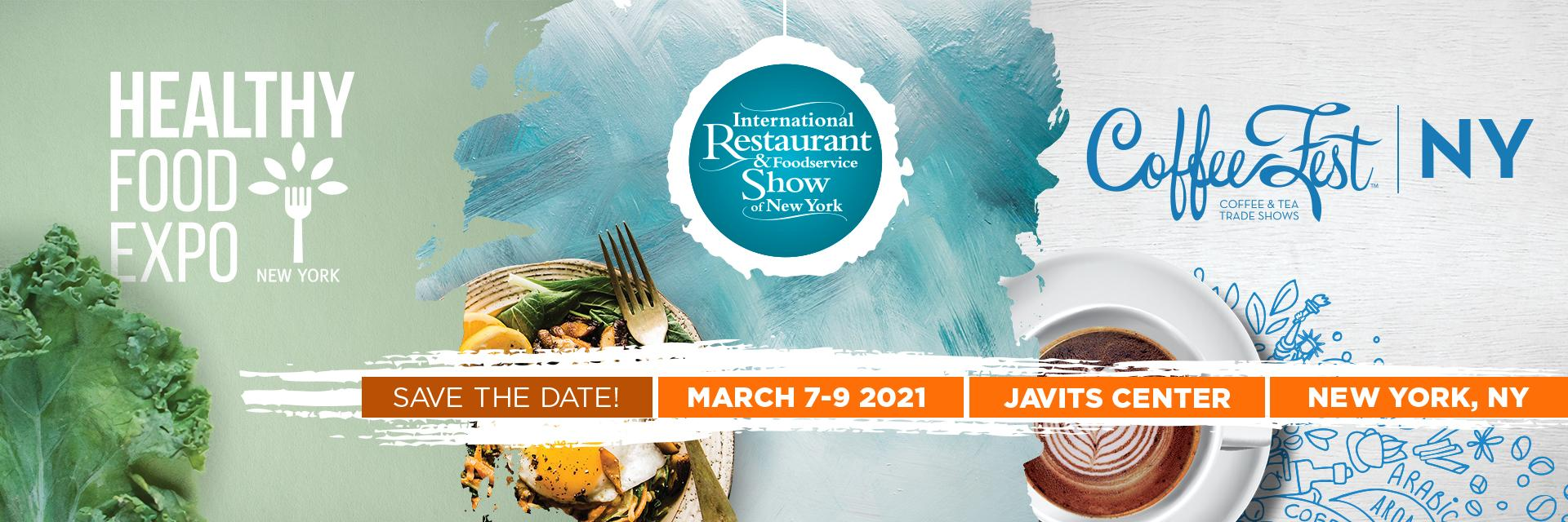 International Restaurant & Foodservice Show of NY - March 2021